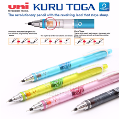 Chì bấm cơ khí UNI MITSUBISHI 0.5mm - UNI MITSUBISHI Kuru Toga Mechanical Pencil 0.5mm
