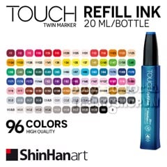 Mực nạp marker TOUCH refill ink 20ml - ShinHan Art