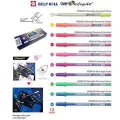 Bút Gel SAKURA - SAKURA Gelly Roll MoonLight Gel Pen