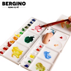 Bảng pha màu BERGINO - BERGINO Multifunctional Watercolor Painting Box (Palette)