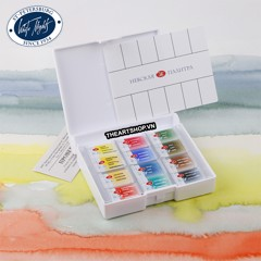 Bộ màu nước WHITE NIGHTS 12 màu (Hộp nhựa) - NEVSKAYA PALITRA WHITE NIGHTS Watercolor Set 12 colors (Plastic box)