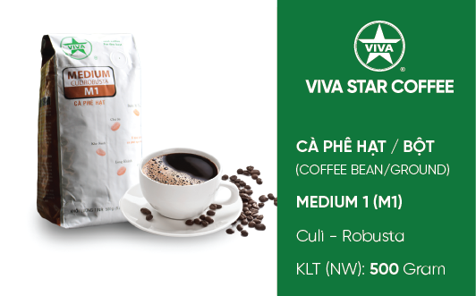 Cà phê Medium – Medium Coffee (M1)
