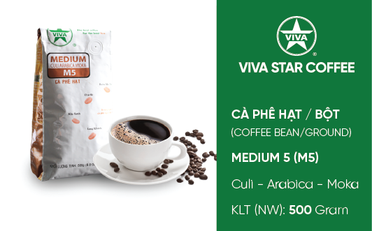 Cà phê Medium – Medium Coffee (M5)
