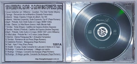 1001A (GUITAR) VA - ESSENTIAL GUITAR - 33 GUITAR MASTERPIECES (2002) - CD1