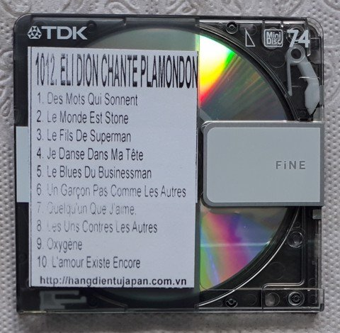 1012 1991-CÉLINE DION - DION CHANTE PLAMONDON (US EDITION)