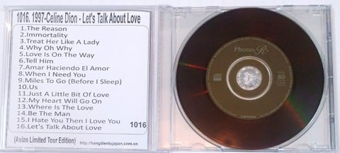 1016 1997-CELINE DION - LETS TALK ABOUT LOVE (ASIAN LIMITED TOUR EDITION