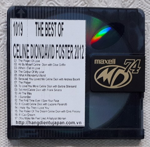 1019 2012-THE BEST OF CELINE DIONDAVID FOSTER