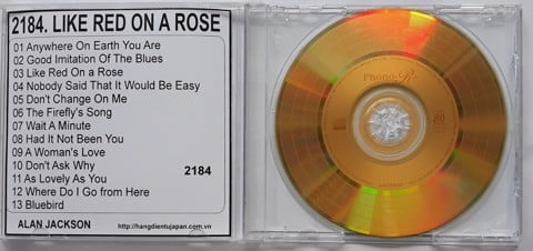 2184. Alan Jackson - Like Red On A Rose
