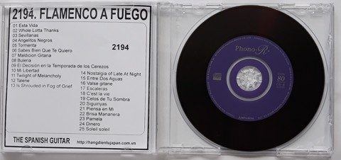2194. The Spanish Guitar - Flamenco a Fuego
