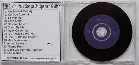 2196. The Spanish Guitar - Nº 1 -Your Songs On Spanish Guitar- (Ambient Lounge For Relaxing)