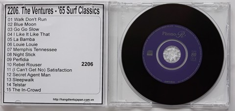 2206. The Ventures - '65 Surf Classics
