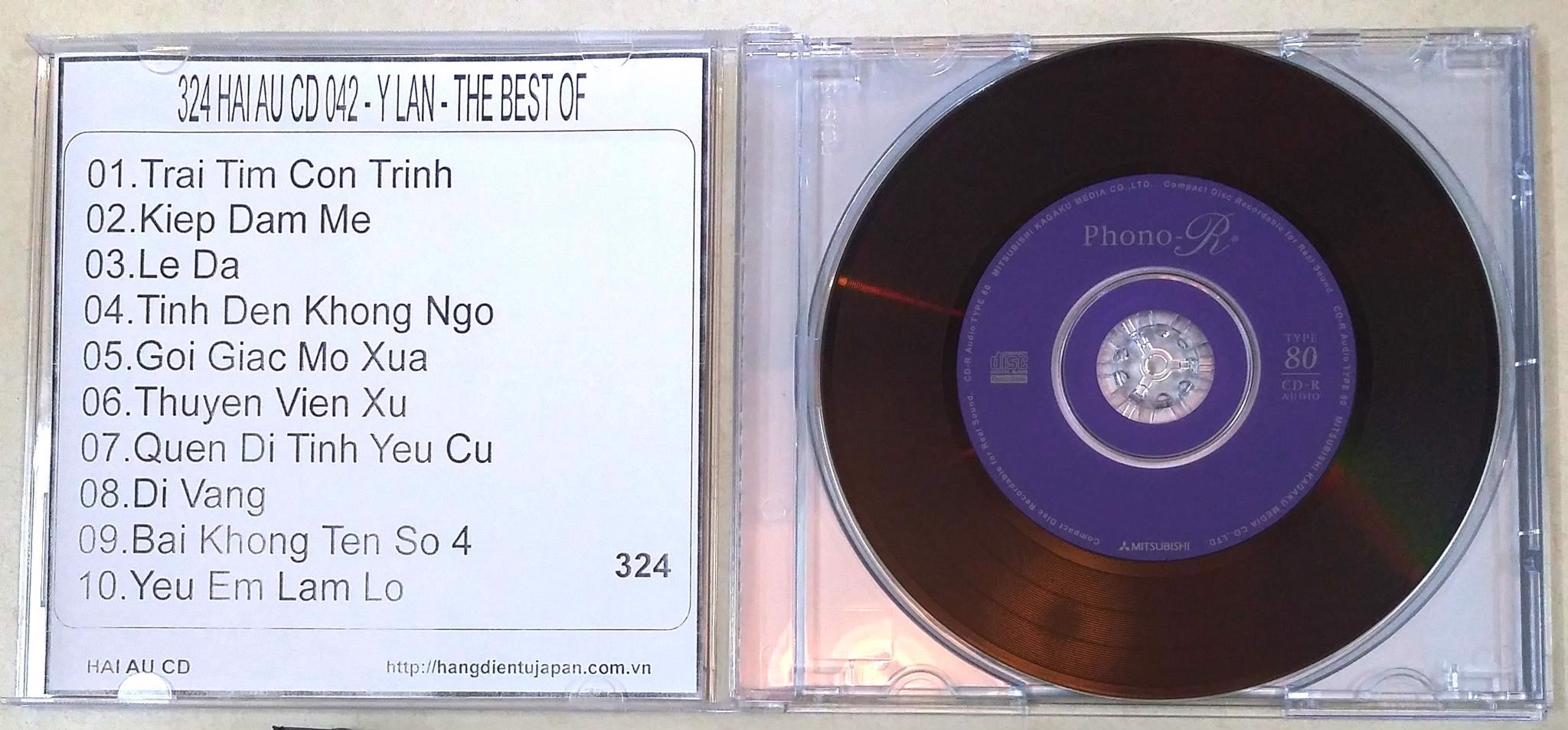 324 HAI AU CD 042 - Y LAN - THE BEST OF