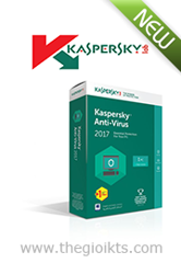 Kaspersky Anti-Virus 2017 ( 3pcs )