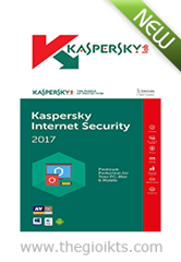 Kaspersky Internet Security 2017 (3pcs)