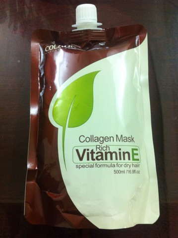 HẤP TÚI COLATIN VITAMIN E - COLLAGEN MASK