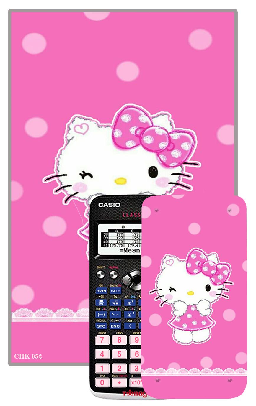 Decal máy tính Casio Hello Kitty 052