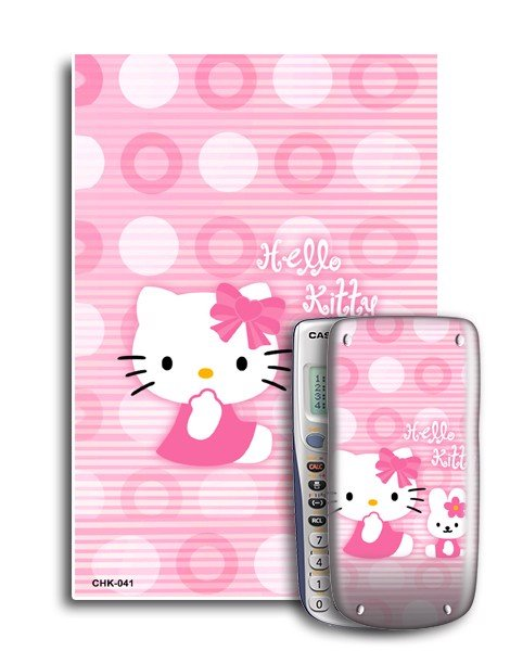 Decal máy tính Casio Hello Kitty 041