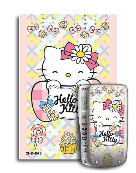 Decal máy tính Casio Hello Kitty 043