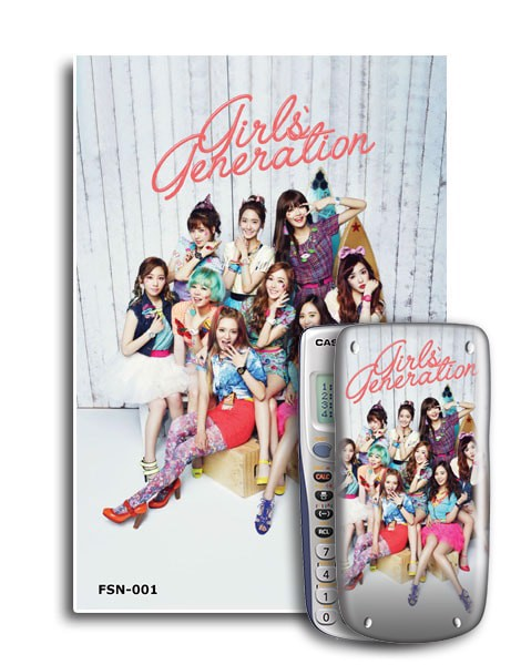 Decal máy tính Casio Girls Generation 001