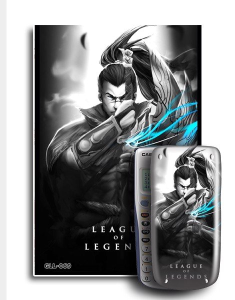 Decal máy tính Casio League Of Legend 069