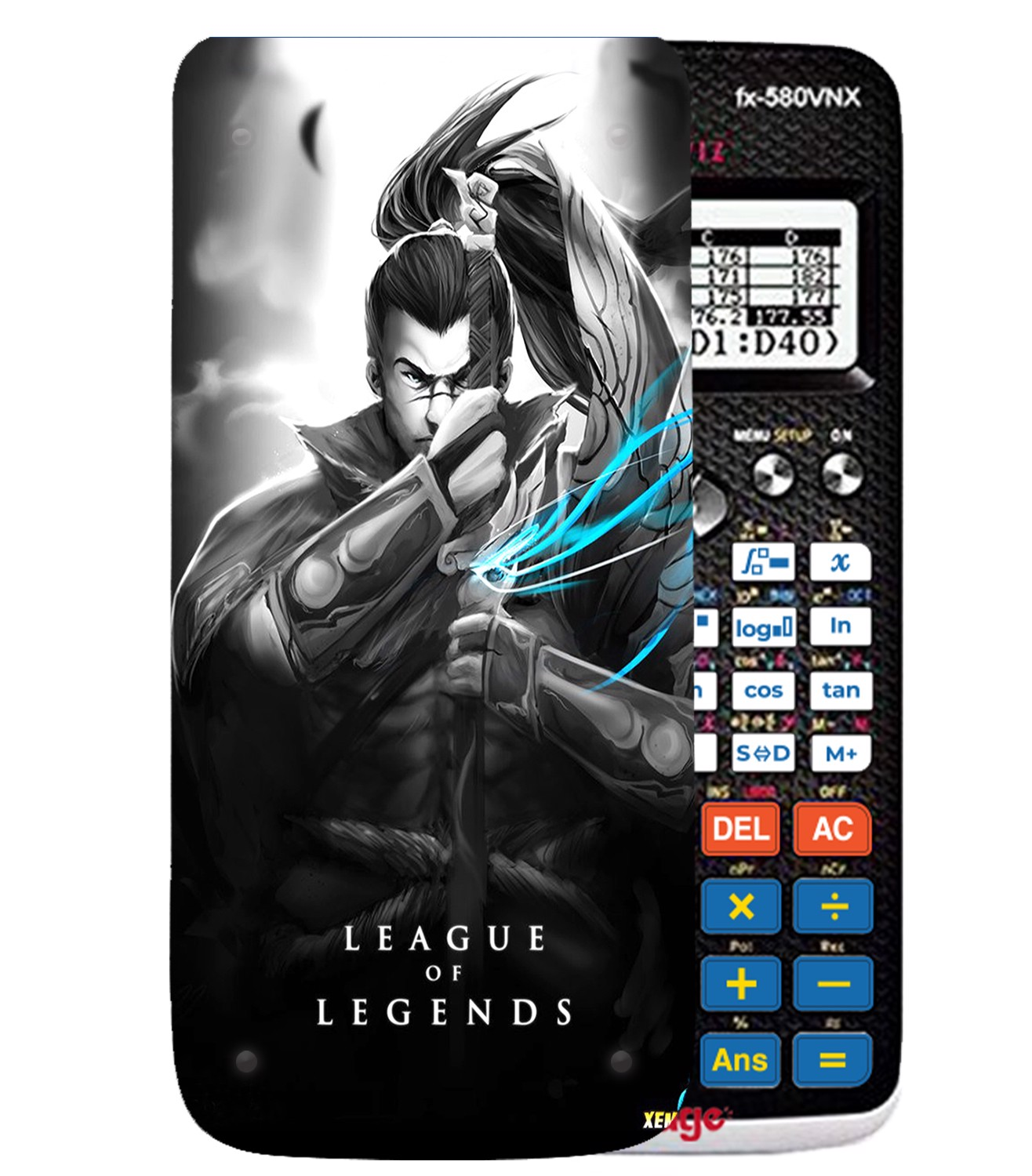 Ốp máy tính Casio FX 580 VNX League Of Legend 069