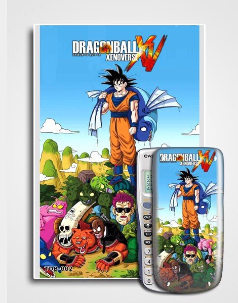 Decal máy tính Casio Dragon Ball 002