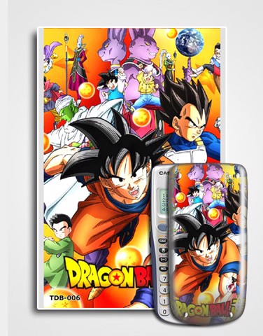 Decal máy tính Casio Dragon Ball 006