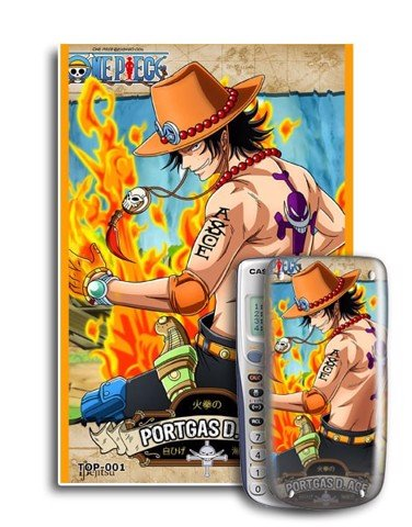 Decal máy tính Casio One Piece 001