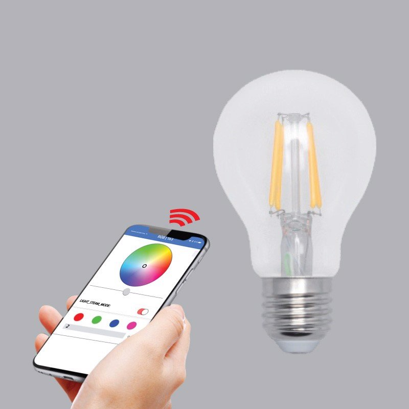 ĐÈN FILAMENT MPE SMART LED 6W Φ60MM