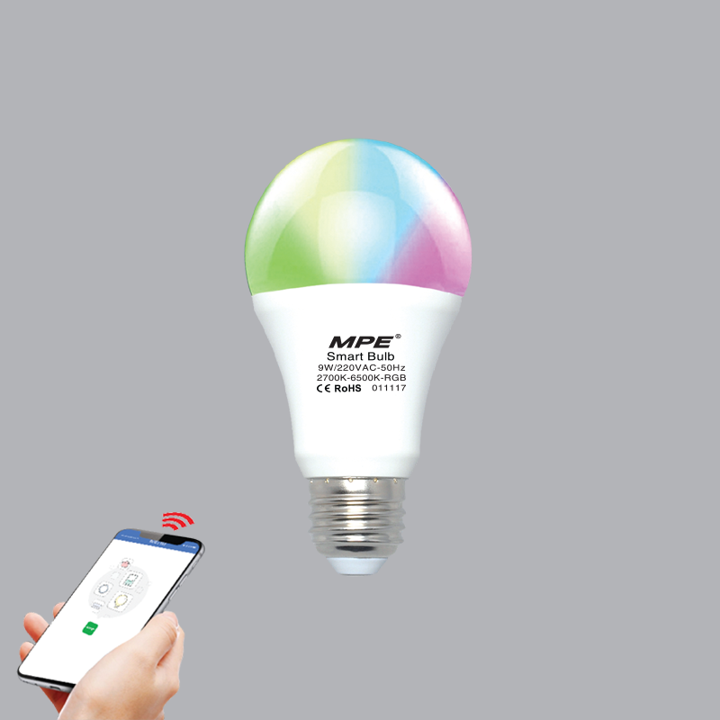 ĐÈN LED BULB SMART MPE 9W WIFI