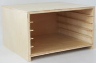 Animal Puzzle Cabinet:Five Compartments