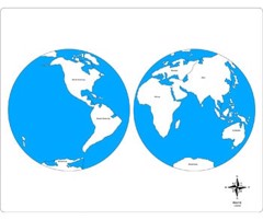 Bản đồ thế giới<br>NEW World Control Map – Labeled