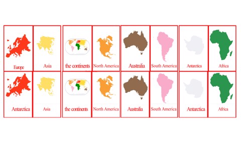 Continents Nomenclature