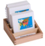 Asia Flags Nomenclature Cards