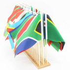 Africa Flag Stands
