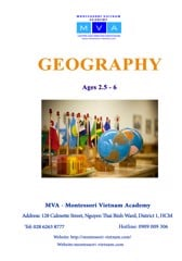 Geography - AGES 2.5 - 6