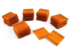 45 tấm hạt cườm vàng<br>45 Golden Bead Hundred Squares
