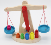 Children's balance scale