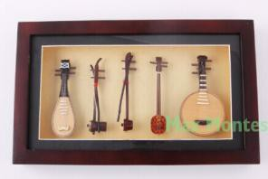 The Chinese musical instrument set