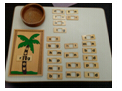 Coconut tree vowel game