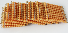 10 Golden Bead Hundred Squares