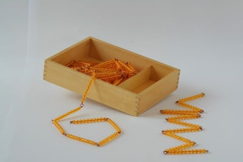 Hộp dây cườm 1000 và dây 100<br>Bead Chains of 100 and 1000 with Box