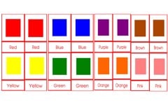 Montessori Colours