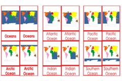 Materials Oceans Age 3 to 6