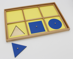 Geometric Demonstration Tray To Fit S024