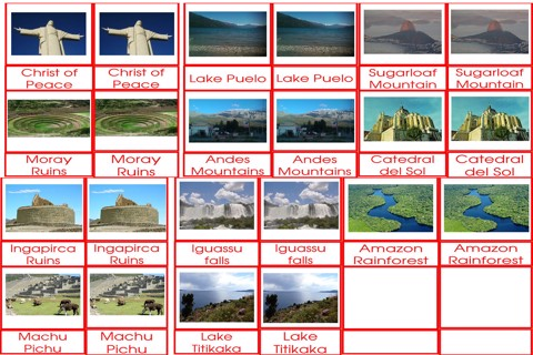 South American Landmarks Flashcards
