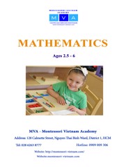 Mathematics - Ages 2.5 - 6