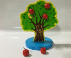 Magnet the apple tree