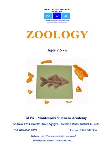 Zoology - AGES 2.5 - 6