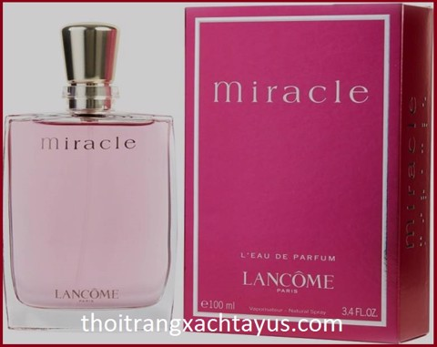"NH 05 c - NƯỚC HOA "" LANCÔME  MIRACLE "" 100ml / made in france / NEW"